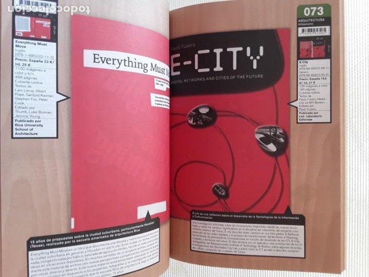 Libros: Catálogo ACTAR 2010 (Actalog 02). Arquitectura. Arte - Foto 2 - 186785463