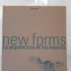 Libros: PHILIP JODIDIO - NEW FORMS (LA ARQUITECTURA DE LOS 90) TASCHEN 2001 (GEHRY, ZAHA HADID, KOOLHAAS...). Lote 186788837