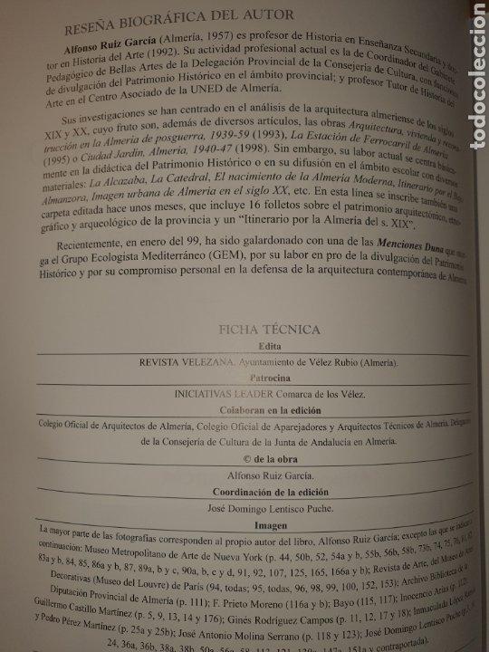 Libros: EL CASTILLO DE VELEZ BLANCO (ALMERIA) - Foto 3 - 195280740