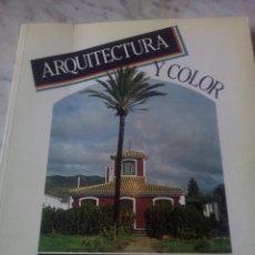 Libros: ARQUITECTURA Y COLOR. Lote 202946907
