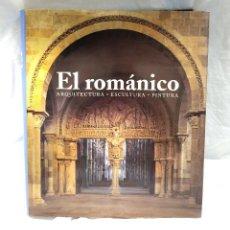 Libros: EL ROMÁNICO ARQUITECTURA, ESCULTURA Y PINTURA. KONEMANN 2004. Lote 204089488