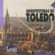 Libros: ARQUITECTURAS DE TOLEDO. JUNTA DE LA COMUNIDAD DE CASTILLA LA MANCHA. 1992. VOL I Y II.. Lote 204370243