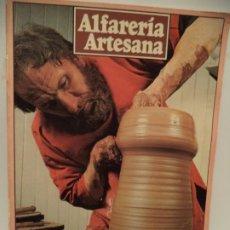 Libros: LIBRO DE ARTESANIA ALFARERIA. Lote 204428595