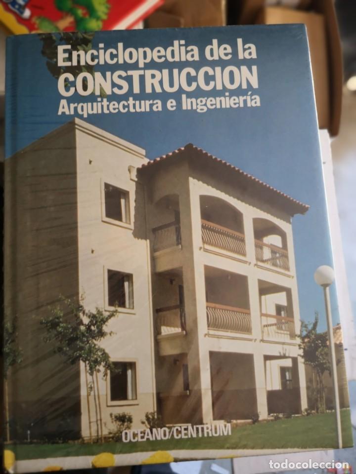 ENCICLOPEDIA DE LA CONSTRUCCIÓN, ARQUITECTURA E INGENIERÍA - 6 TOMOS (Libros Nuevos - Bellas Artes, ocio y coleccionismo - Arquitectura)