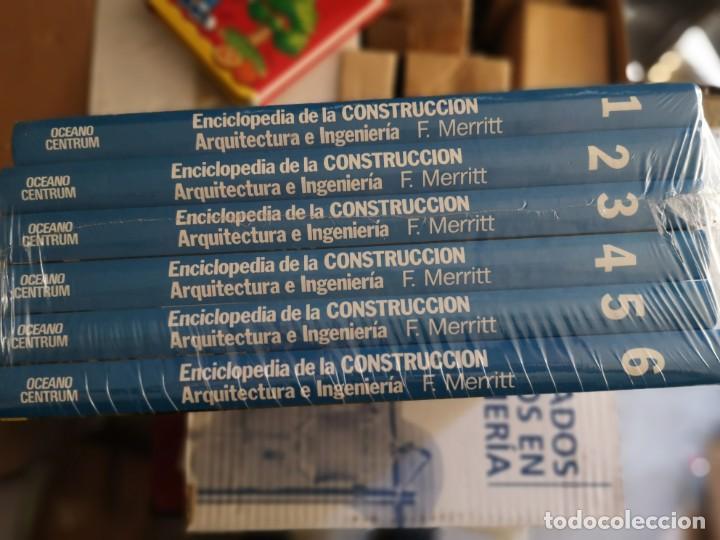 Libros: Enciclopedia de la construcción, arquitectura e ingeniería - 6 tomos - Foto 2 - 204616328