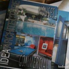 Libros: IDEA ARQUITECTURA, CASAS Y COMERCIAL - 2 TOMOS. Lote 204733830