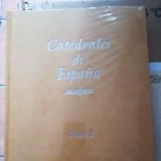 Libros: CATEDRALES DE ESPAÑA. NUEVA, SIN ESTRENA CULTURAL DE EDIC. CERTIFICADO EDIC ESPECIAL NUMERADA. 2 TOM. Lote 206771735