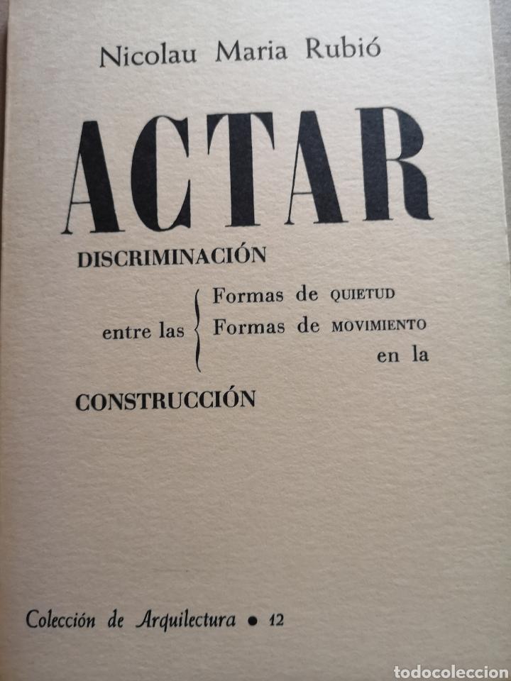 LIBRO DE ARQUITECTURA ACTAR DISCRIMINACIÓN EN LA CONSTRUCCIÓN (Libros Nuevos - Bellas Artes, ocio y coleccionismo - Arquitectura)