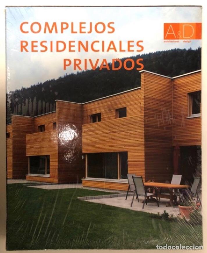 COMPLEJOS RESIDENCIALES, ARCHITECTURAL DESIGN. ED. MONSA. NUEVO (CON PLÁSTICO PRECINTO). (Libros Nuevos - Bellas Artes, ocio y coleccionismo - Arquitectura)