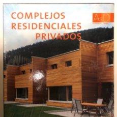 Libros: COMPLEJOS RESIDENCIALES, ARCHITECTURAL DESIGN. ED. MONSA. NUEVO (CON PLÁSTICO PRECINTO).. Lote 208313068