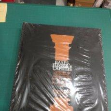 Libros: BASES,FUSTES E CAPITEIS. CATÁLOGO DE ELEMENTOS COLUMNARIOS MEDIEVAIS NO MUSEO PROVINCIAL DE LUGO. Lote 210831486