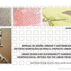 Libros: MANUAL DE DISEÑO URBANO Y SOSTENIBILIDAD (ELENA LACILLA / JOSÉ Mª ORDEIG) EUNSA 2020. Lote 212561965