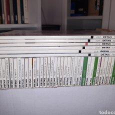 Libros: LOTE 22 REVISTAS DETAIL EN ESPAÑOL ARQUITECTURA DETALLES CONSTRUCTIVOS. Lote 213472793