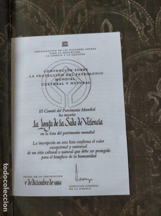 Libros: (2x1) (LIBROS) LONJA DE VALENCIA (Patrimonio de la Humanidad) + LA LONJA Manuel Sanchez Navarrete - Foto 4 - 214101068