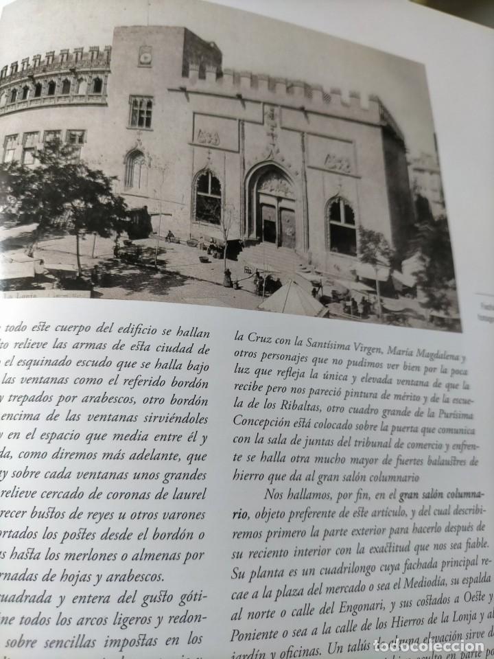 Libros: (2x1) (LIBROS) LONJA DE VALENCIA (Patrimonio de la Humanidad) + LA LONJA Manuel Sanchez Navarrete - Foto 7 - 214101068