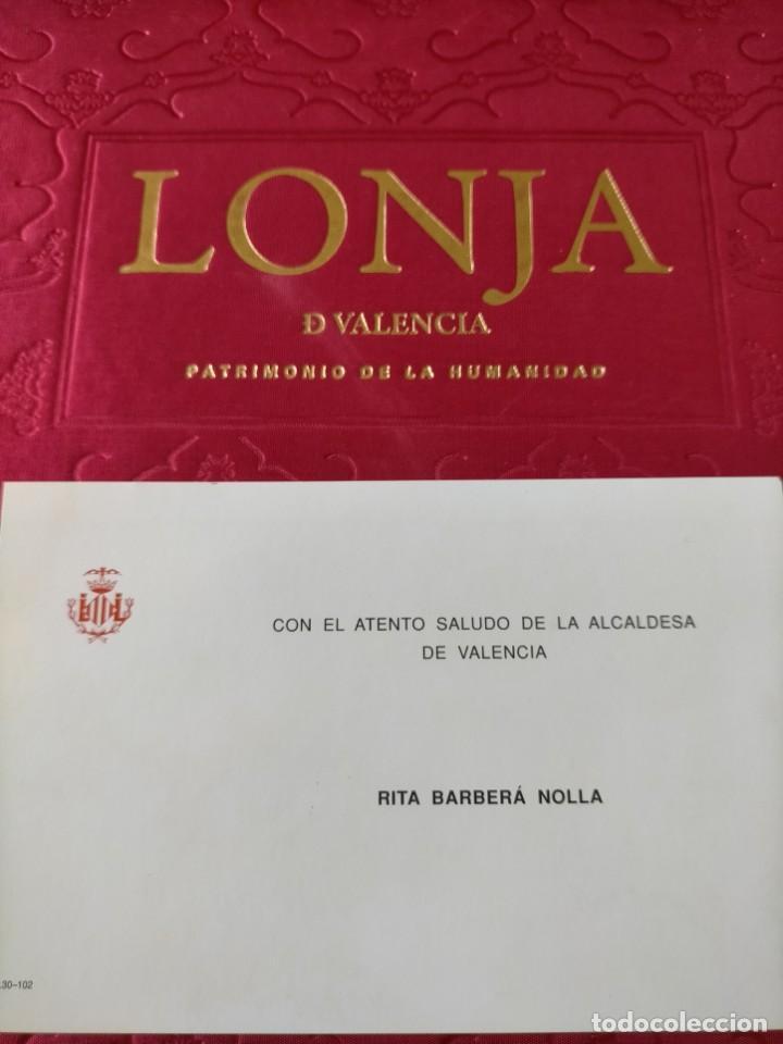 Libros: (2x1) (LIBROS) LONJA DE VALENCIA (Patrimonio de la Humanidad) + LA LONJA Manuel Sanchez Navarrete - Foto 8 - 214101068