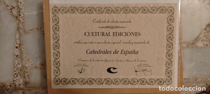 Libros: EDICIONES ESPECIALES SERIADAS Y NUMERADAS DE EDIT. CULTURAL. NUEVAS. PRECINTADAS CON CERTIFICADO. - Foto 13 - 214965897