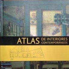 Libros: ATLAS DE INTERIORES CONTEMPORÁNEOS. Lote 218303528
