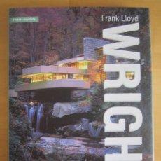 Libros: FRANK LLOYD WRIGHT - H. KLICZKOWSKI - LIBRO DE ARQUITECTURA CON SUS PRINCIPALES OBRAS. Lote 220530938