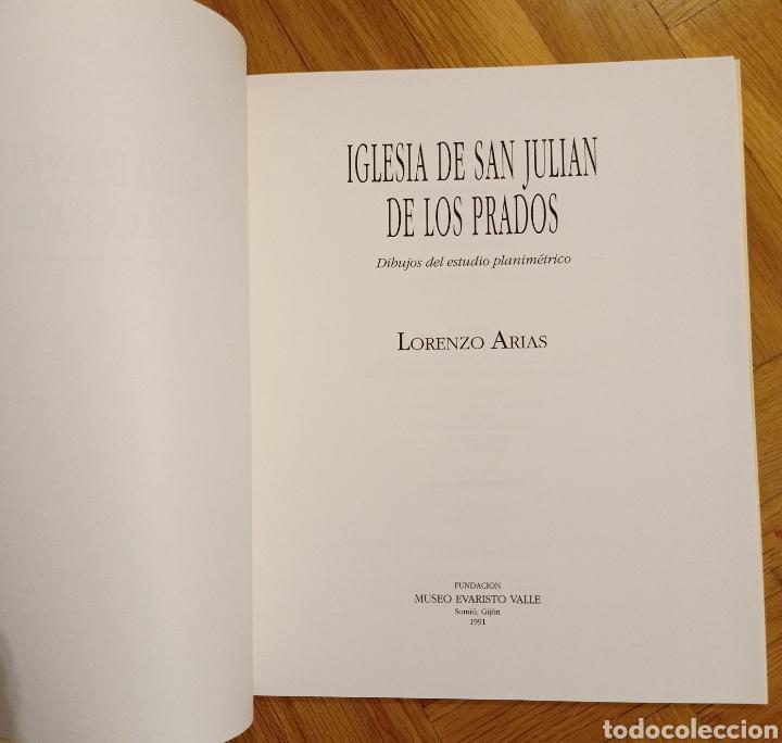 Libros: Iglesia de San Julián de los Prados / Dibujos del estudio planimétrico / Lorenzo Arias - Foto 6 - 221169138