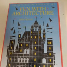 Libros: FUN WITH ARCHITECTURE. THE METROPOLITAN MUSEUM OF ART. Lote 222036896