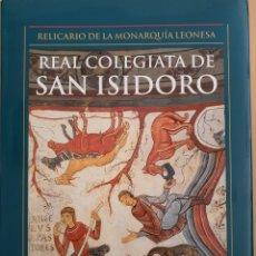 Libros: REAL COLEGIATA DE SAN ISIDORO. LIBRO EN GRAN FORMATO. Lote 222142381