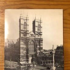 Libros: THE WESTMINSTER ABBEY GUIDE(28€). Lote 223732372