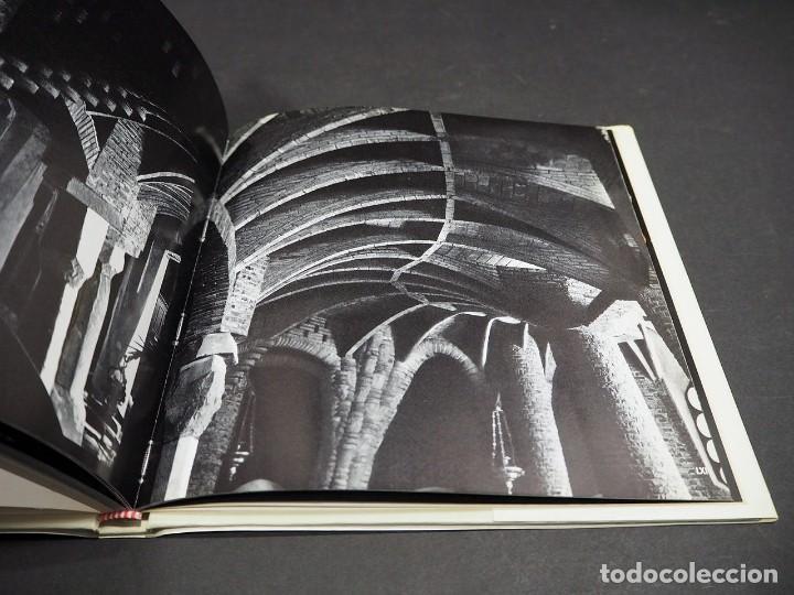 Libros: GAUDI. CRIPTA COLONIA GÜELL. EDICIONES POLIGRAFA. 1972 - Foto 7 - 223973487