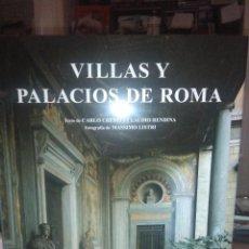 Libri: CARLO CRESTI.VILLAS Y PALACIOS DE ROMA.KONEMAN. Lote 227089455