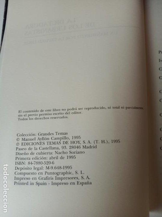 Libros: La dictadura de los urbanistas: Un manifiesto por la ciudad libre - Ayllon, Manuel - Foto 4 - 233091535