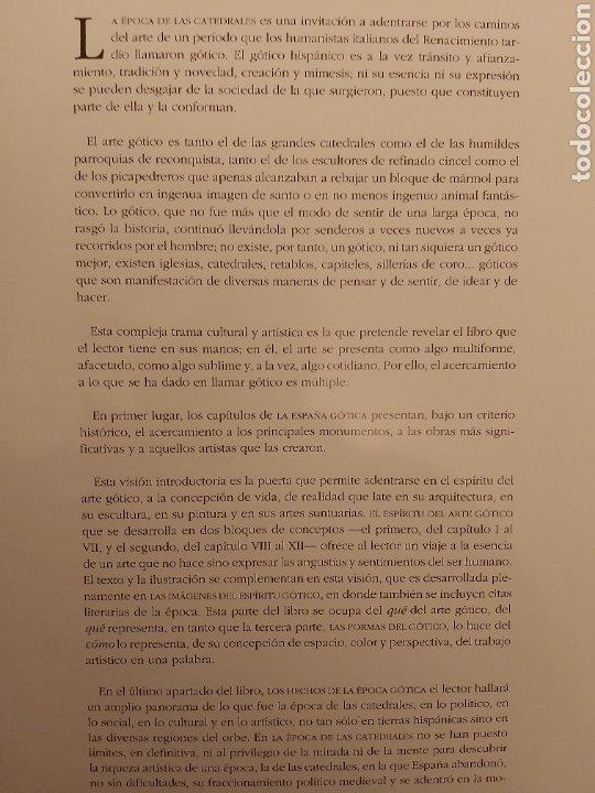Libros: HISTORIA DEL ARTE ESPAÑOL. TOMO V. LA ÉPOCA DE LAS CATEDRALES. - Foto 4 - 233613805