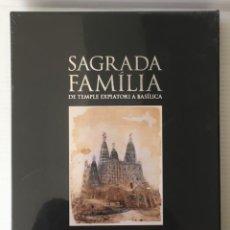 Libros: SAGRADA FAMÍLIA. LUNWERG, 2011. EDICIÓN LIMITADA. PRECINTADO.. Lote 235035450