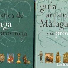 Libros: GUÍA ARTÍSTICA DE MÁLAGA. DOS TOMOS. FUNDACIÓN JOSÉ LARA. Lote 235585660