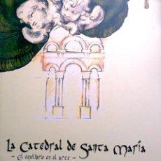 Libros: LA CATEDRAL DE SANTA MARÍA (CATEDRAL DE JAÉN) + DVD. Lote 235916950