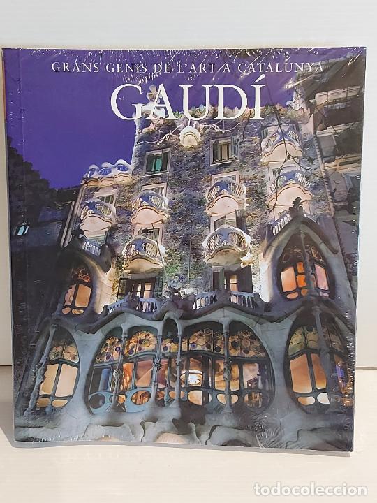 GAUDÍ / GRANS GENIS DE L'ART A CATALUNYA / 3 / LIBRO PRECINTADO.. (Libros Nuevos - Bellas Artes, ocio y coleccionismo - Arquitectura)