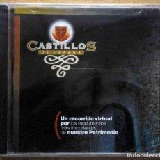 Libros: CD-ROM: PRECINTADO. CASTILLOS DE ESPAÑA. RECORRIDO VIRTUAL DE NUESTRO PATRIMONIO.. Lote 236847070