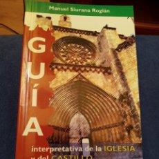 Libros: GUIA IGLESIA CASTILLO VALDERROBRES TERUEL ARAGON ARQUITECTURA GÓTICO. Lote 262326390