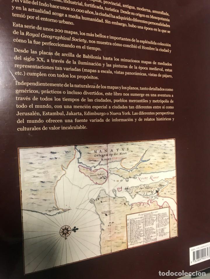 Libros: Cartografía de la Ciudad, más de 300 pags. 38x35 cm, - Foto 2 - 239380690