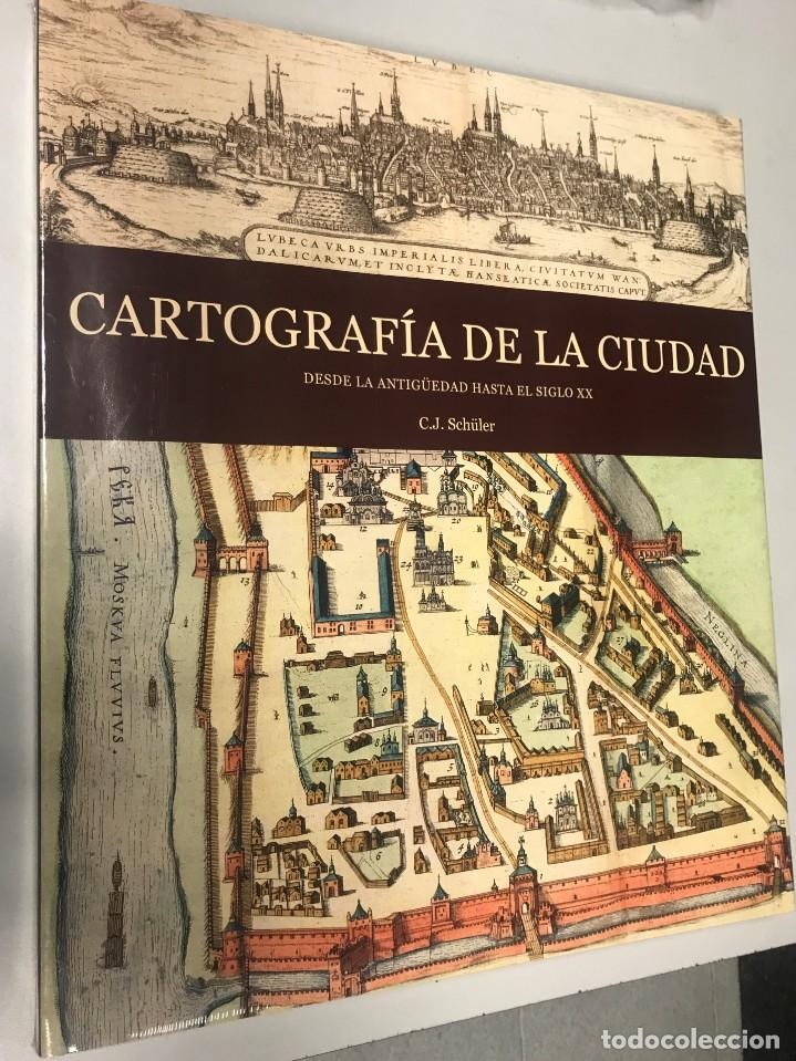 Libros: Cartografía de la Ciudad, más de 300 pags. 38x35 cm, - Foto 4 - 239380690