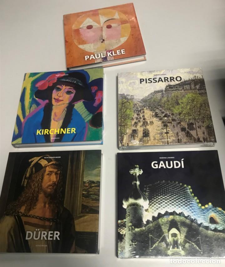 GAUDÍ, DURERO, PISARRO, KLEE, KIRCHNER, 4 TOMOS. NUEVOS (Libros Nuevos - Bellas Artes, ocio y coleccionismo - Arquitectura)
