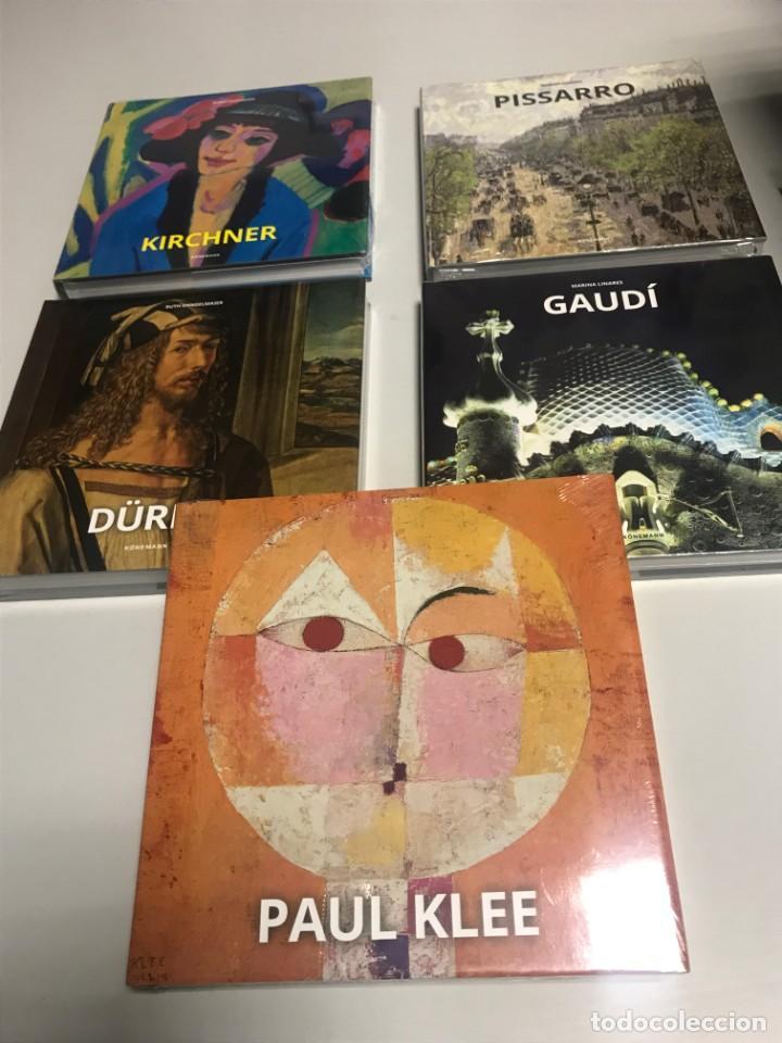 Libros: Gaudí, Durero, Pisarro, Klee, Kirchner, 4 tomos. Nuevos - Foto 2 - 239442765