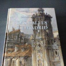 Libros: LAS CALLES DE MADRID. Lote 240742690