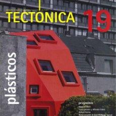 Livres: REVISTA TECTONICA 19. PLÁSTICOS.. Lote 241521970