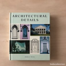 Libros: ARCHITECTURAL DETAILS. Lote 243171110