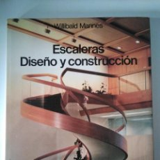 Livros: ESCALERAS DISEÑO Y CONSTRUCCION MANNES, WILLIBALD. Lote 244542260