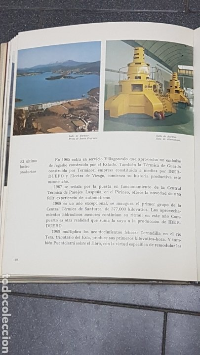 Libros: IBERDUERO 1944-1969 - Foto 8 - 246779185
