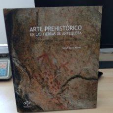 Libros: ARTE PREHISTÓRICO EN LAS TIERRAS DE ANTEQUERA. Lote 249136880