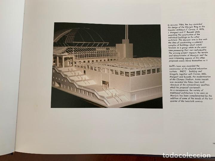 Libros: Palau Sant Jordi. Construcción del Palau. Inglés - Foto 6 - 251833940