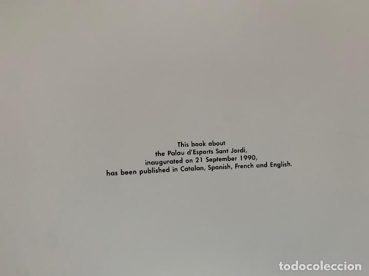 Libros: Palau Sant Jordi. Construcción del Palau. Inglés - Foto 10 - 251833940