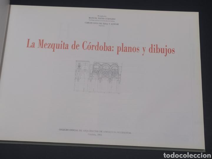Libros: La mezquita de Córdoba. Planos y dibujos. Manuel Nieto cumplido/Carlos Luca de Tena y Alvear. 1992. - Foto 4 - 252221115